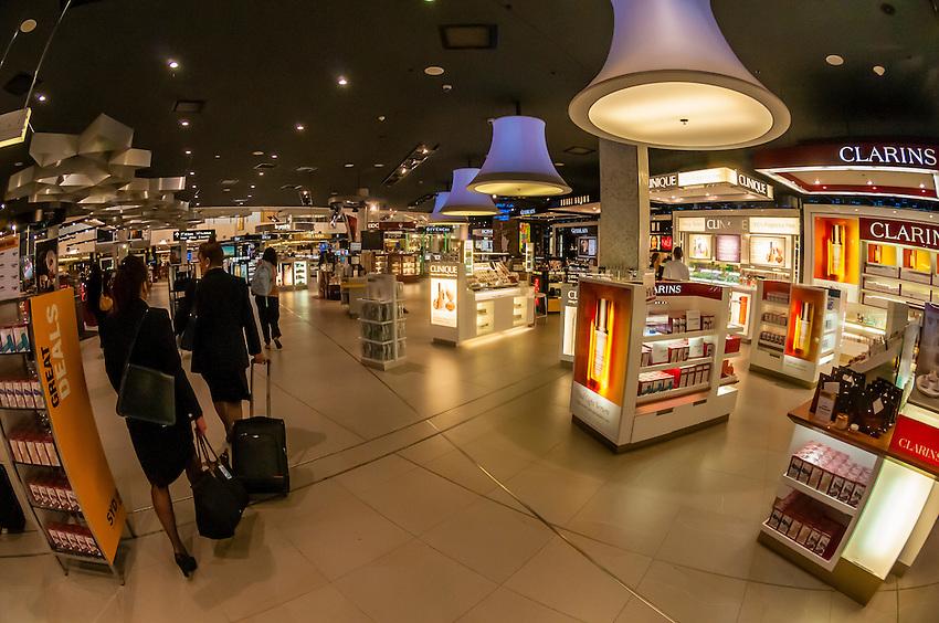 Duty free shops, Sydney Airport, Sydney, New South Wales, Australia