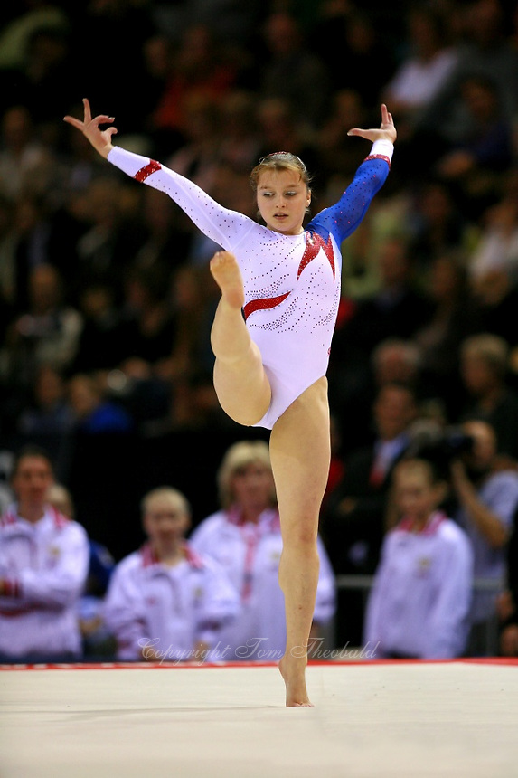 Oct 18 2006 Aarhus Denmark Anna Pavlova Of Russia Performs On Floor