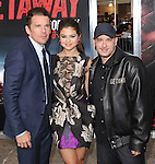 Ethan Hawke,Selena Gomez and Courtney Solomon at The Warner Bros. Pictures L.A. Premiere of Getaway held at The Regency Village Theater in Westwood, California on August 26,2013                                                                   Copyright 2013 Hollywood Press Agency
