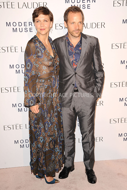 WWW.ACEPIXS.COM<br /> September 12, 2013...New York City<br /> <br /> Maggie Gyllenhaal and Peter Sarsgaard attending the Estee Lauder 'Modern Muse' Fragrance Launch Party at the Guggenheim Museum on September 12, 2013 in New York City.<br /> <br /> Please byline: Kristin Callahan/Ace Pictures<br /> <br /> Ace Pictures, Inc: ..tel: (212) 243 8787 or (646) 769 0430..e-mail: info@acepixs.com..web: http://www.acepixs.com