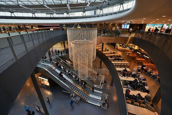 Christmas decoration, Airport, Zurich, Switzerland, Europe