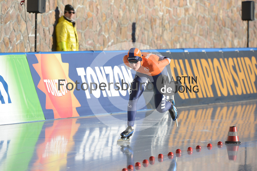 SPEED SKATING: COLLALBO: Arena Ritten, 11-01-2019, ISU European Speed Skating Championships, Antoinette de Jong (NED), ©photo Martin de Jong