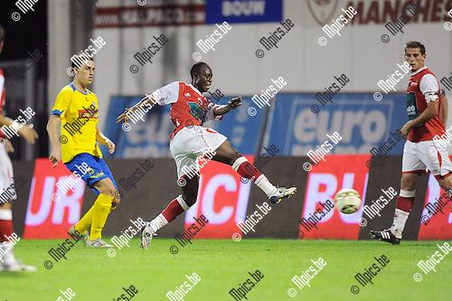 2011-09-10 / Voetbal / seizoen 2011-2012 / Antwerp FC - St-Niklaas / Tosin Dosunmu scoort hier zijn tweede doelpunt van de avond..Foto: mpics