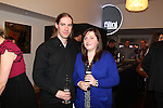 Cardiff, WALES - November 22:.Otley Brewery event at the Radisson Blu Hotel.Rob Deere & Lauren Mahoney..22.11.12..©Steve Pope