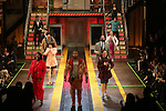 Chesney Snow with the cast during the Broadway Opening Night Performance Curtain Call for 'In Transit' at Circle in the Square Theatre on December 11, 2016 in New York City.