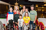 Ceili for Gav with singer and accordionist Seamus Begley, performs with family and friends at a charity ceili in aid of his nephew Gavin Ralston. Pictured l-r Eibhlin O'Connor, Denis O'Connor, Caitlin begley Lynch, Jim O'Connor, Claudia O'Connor, Tom O'Connor, Brendan O'Connor and Hannah O'Connor all from Dingle.