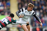 Tom Pincus of Bristol Bears takes on the Leinster defence. Gallagher Premiership match, between Leicester Tigers and Bristol Bears on April 27, 2019 at Welford Road in Leicester, England. Photo by: Patrick Khachfe / JMP