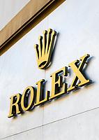 Rolex retail store.