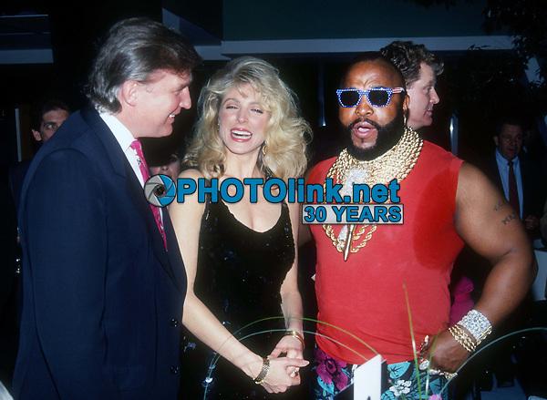 Donald & Marla Trump Mr T 1991<br /> Photo By John Barrett/PHOTOlink.net