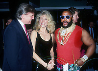 Donald & Marla Trump Mr T 1991<br /> Photo By John Barrett/PHOTOlink.net