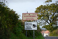 Pictured: Llanybydder, west Wales, UK. Tuesday 23 October 2018<br /> Re: A three-year-old boy has died after being hit by a vehicle at a property in Carmarthenshire, Wales, UK.<br /> Dyfed-Powys Police are investigating the incident near Llanybydder on Sunday.<br /> The child, named locally as Evan Williams, died at the scene and the family are being supported by specially trained officers.