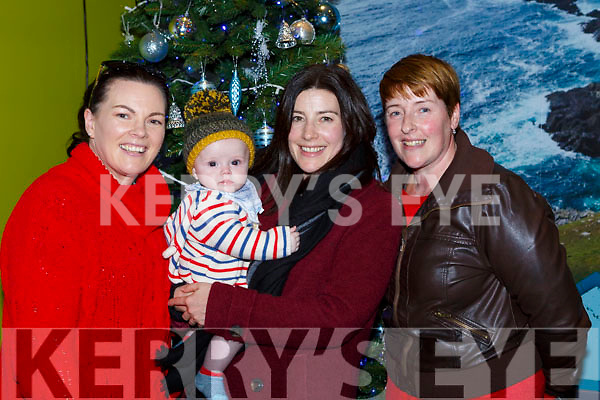 Little Fionn  Maggs and his mum Yvonne Doolan were welcomed home by his aunties Michelle Doolan and Nessa McCarthy at Kerry Airport on Monday