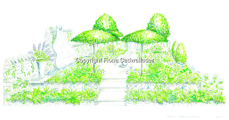 The Poetry Lover's Garden, designed by Fiona Cadwallader