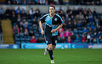 Stephen McGinn of Wycombe Wanderers in action during the Sky Bet League 2 match between Wycombe Wanderers and Crawley Town at Adams Park, High Wycombe, England on 28 December 2015. Photo by Andy Rowland / PRiME Media Images