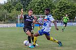 2018-07-03 / Voetbal / seizoen 2018 -2019 / KVC Westerlo - Sporting Charleroi / Christian Benavente (l.Sporting Charleroi) met Noel Soumah ,Foto: Mpics.be
