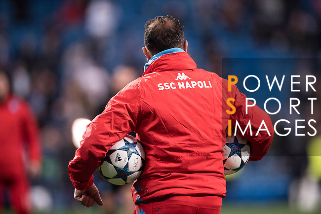 Real Madrid vs Napoli, part of the 2016-17 UEFA Champions League Round of 16 at the Santiago Bernabeu Stadium on 15 February 2017 in Madrid, Spain. Photo by Diego Gonzalez Souto / Power Sport Images