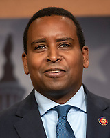 United States Representative Joe Neguse (Democrat of Colorado) makes remarks at a press conference in the US Capitol in Washington, DC announcing a Democratic package of three bills to be introduced in the US Senate and US House to control prescription drug prices on Thursday, January 10, 2019.<br /> Credit: Ron Sachs / CNP /MediaPunch