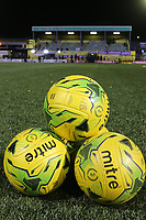 Balls with view of the stad during Haringey Borough vs AFC Wimbledon, Emirates FA Cup Football at Coles Park Stadium on 9th November 2018