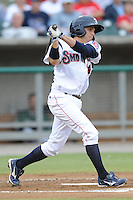 Tony Campana during the Southern League Playoffs. West Tenn won the game 8-3 at Smokies Park, Kodak Tennessee. Photo By Tony Farlow/Four Seam Images.