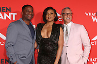 "LOS ANGELES - JAN 28:  James Lopez, Taraji P. Henson, Adam Shankman at the ""What Men Want"" Premiere at the Village Theater on January 28, 2019 in Westwood, CA"