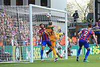 Glenn Murray of Brighton & Hove Albion scores for Brighton & Hove Albion during Crystal Palace vs Brighton & Hove Albion, Premier League Football at Selhurst Park on 14th April 2018