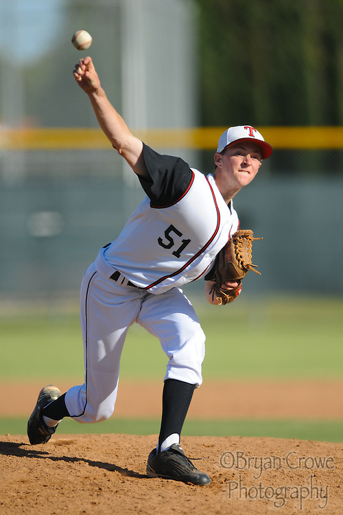 05/11//10, Fullerton; The Troy Warriors face Sonora during their final home game of 2010.