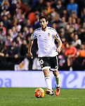 Valencia's  Daniel Parejo  during La Liga match. January 3, 2016. (ALTERPHOTOS/Javier Comos)
