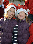 Maggie and Charlie Caffrey who took part in the Drogheda Santa Run to Scotch Hall. Photo:Colin Bell/pressphotos.ie