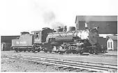 K-36 #486 at Alamosa shop area.<br /> D&amp;RGW  Alamosa, CO  Taken by Horan, John F. - 7/29/1954