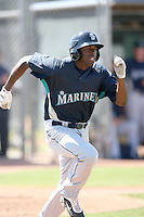 James Jones, Seattle Mariners 2010 minor league spring training..Photo by:  Bill Mitchell/Four Seam Images.