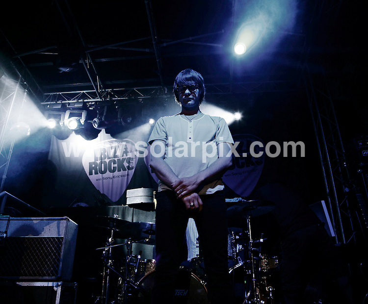 **ALL ROUND PICTURES FROM SOLARPIX.COM**.*WORLDWIDE RIGHTS*.Kasabian perform live at Ibiza Rocks in Bar M, Ibiza, San Antonio, 17th July 2007..This pic: Kasabian..JOB REF:  4309 GMT   DATE: 18_07_2007.**MUST CREDIT SOLARPIX.COM OR DOUBLE FEE WILL BE CHARGED* *UNDER NO CIRCUMSTANCES IS THIS IMAGE TO BE REPRODUCED FOR ANY ONLINE EDITION WITHOUT PRIOR PERMISSION*
