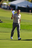 Sergio Garcia (ESP)(Team Europe) on the 9th fairway during Saturday afternoon Fourball at the Ryder Cup, Hazeltine National Golf Club, Chaska, Minnesota, USA.  01/10/2016<br /> Picture: Golffile | Fran Caffrey<br /> <br /> <br /> All photo usage must carry mandatory copyright credit (&copy; Golffile | Fran Caffrey)