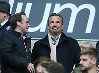 Former Bolton Wanderers part-owner Dean Holdsworth takes his seat<br /> <br /> Photographer Alex Dodd/CameraSport<br /> <br /> The EFL Sky Bet League One - Bolton Wanderers v Bury - Tuesday 18th April 2017 - Macron Stadium - Bolton<br /> <br /> World Copyright &copy; 2017 CameraSport. All rights reserved. 43 Linden Ave. Countesthorpe. Leicester. England. LE8 5PG - Tel: +44 (0) 116 277 4147 - admin@camerasport.com - www.camerasport.com