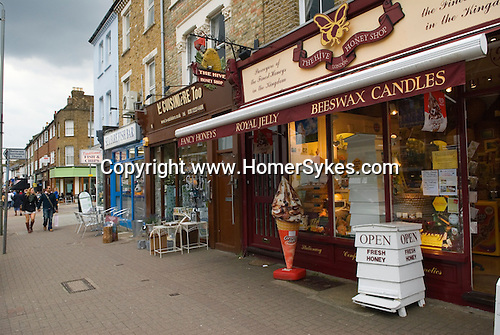 The Honey Shop Northcote Road Clapham Wandsworth SW London.