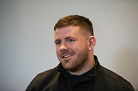 Rob Evans of Wales during the Wales Press Conference at The Vale Resort in Cardiff, Wales, UK.Thursday 28 February 2019