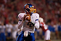 25 September, 2010: South Dakota State quarterback Thomas O'Brien #4 drops back to pass against Nebraska at Memorial Stadium in Lincoln, Nebraska. Nebraska defeated South Dakota State 17 to 3.