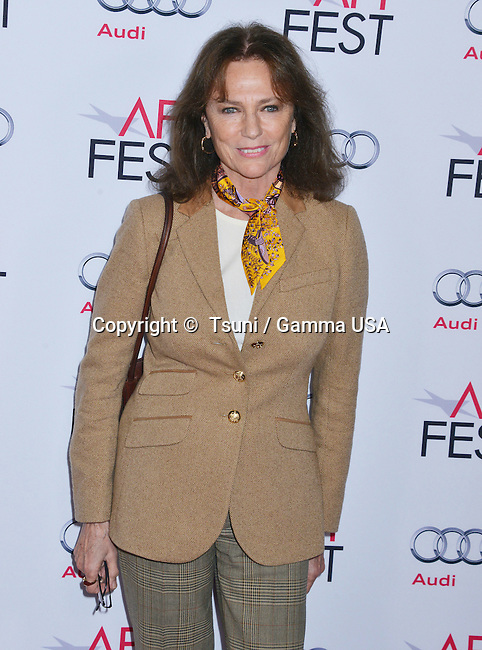 Jacqueline Bissett 052  at The Homesman Premiere at the Dolby Theatre on Nov. 11, 2014 in Los Angeles.