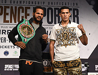 LOS ANGELES - SEPTEMBER 25: Anthony Dirrell and David Benavidez attend the final press conference for their September 28 fight on the Fox Sports PBC Pay-Per-View fight night on September 25, 2019 in. Los Angeles, California. (Photo by Frank Micelotta/Fox Sports/PictureGroup)