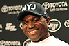 New York Jets Head Coach Todd Bowles laughs while taking questions from the media after team practice at the Atlantic Health Jets Training Jets Training Center in Florham Park, NJ on Wednesday, Dec. 30, 2015.