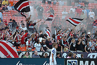 The Creaming Eagles Celebrate a DC United Goal