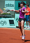Na Li (CHI) wins at Roland Garros in Paris, France on June 2, 2012