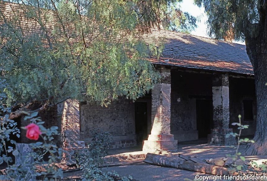 California Missions: Mission San Juan Capistrano--Soldiers' Barracks. Photo '80.