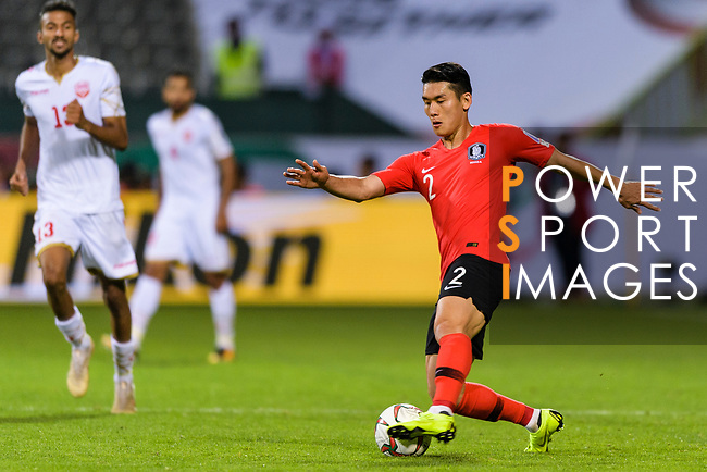 Lee Yong of South Korea in action during the AFC Asian Cup UAE 2019 Round of 16 match between South Korea (KOR) and Bahrain (BHR) at Rashid Stadium on 22 January 2019 in Dubai, United Arab Emirates. Photo by Marcio Rodrigo Machado / Power Sport Images