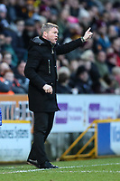 Peterborough Town manager Grant McCann during the Sky Bet League 1 match between Bradford City and Peterborough at the Northern Commercial Stadium, Bradford, England on 26 December 2017. Photo by Thomas Gadd.