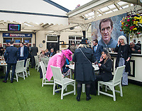 LIVERPOOL - APRIL 13: Scenes from around the course on Randox Health Grand National Friday at Aintree Racecourse in Liverpool, UK (Photo by Sophie Shore/Eclipse Sportswire/Getty Images)