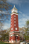 Clock Tower at Queens University in Charlotte NC
