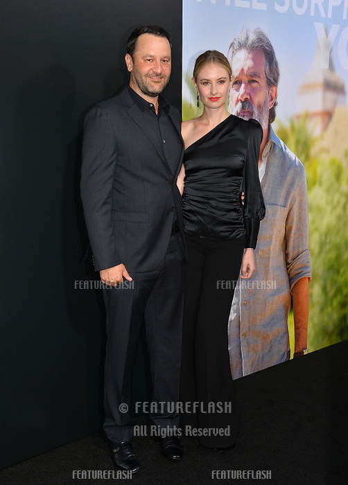 "LOS ANGELES, CA. September 13, 2018: Dan Fogelman & Caitlin Thompson at the premiere for ""Life Itself"" at the Cinerama Dome.<br /> Picture: Paul Smith/Featureflash"