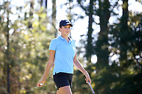 CHAPEL HILL, NC - OCTOBER 11: Ava Bergner of the University of North Carolina at UNC Finley Golf Course on October 11, 2019 in Chapel Hill, North Carolina.