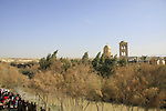 Jordan Valley, Qasr al Yahud. The Church on the Jordanian side of the Jordan river