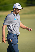 Seamus Power (IRL) after sinking his putt on 10 during round 1 of the AT&amp;T Byron Nelson, Trinity Forest Golf Club, at Dallas, Texas, USA. 5/17/2018.<br /> Picture: Golffile | Ken Murray<br /> <br /> <br /> All photo usage must carry mandatory copyright credit (&copy; Golffile | Ken Murray)
